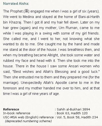 aisha marriage 6-9