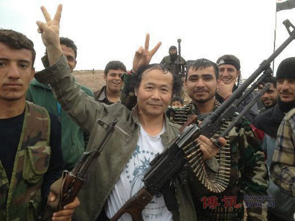 Ughurs fighting for ISIS in Syria