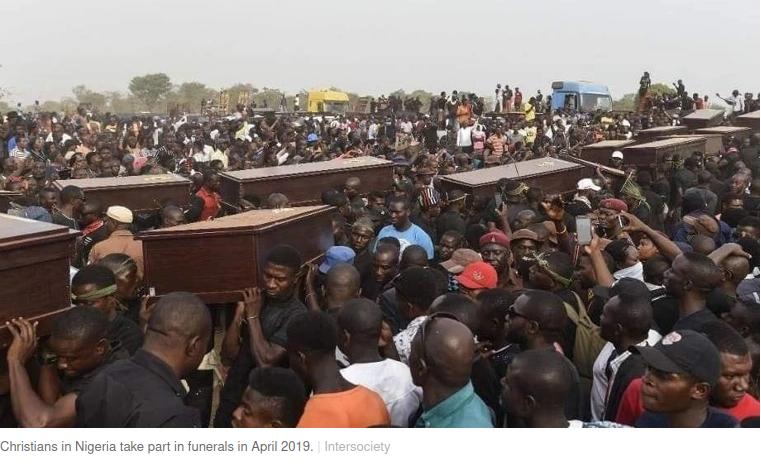 3400 Nigerian Christians killed