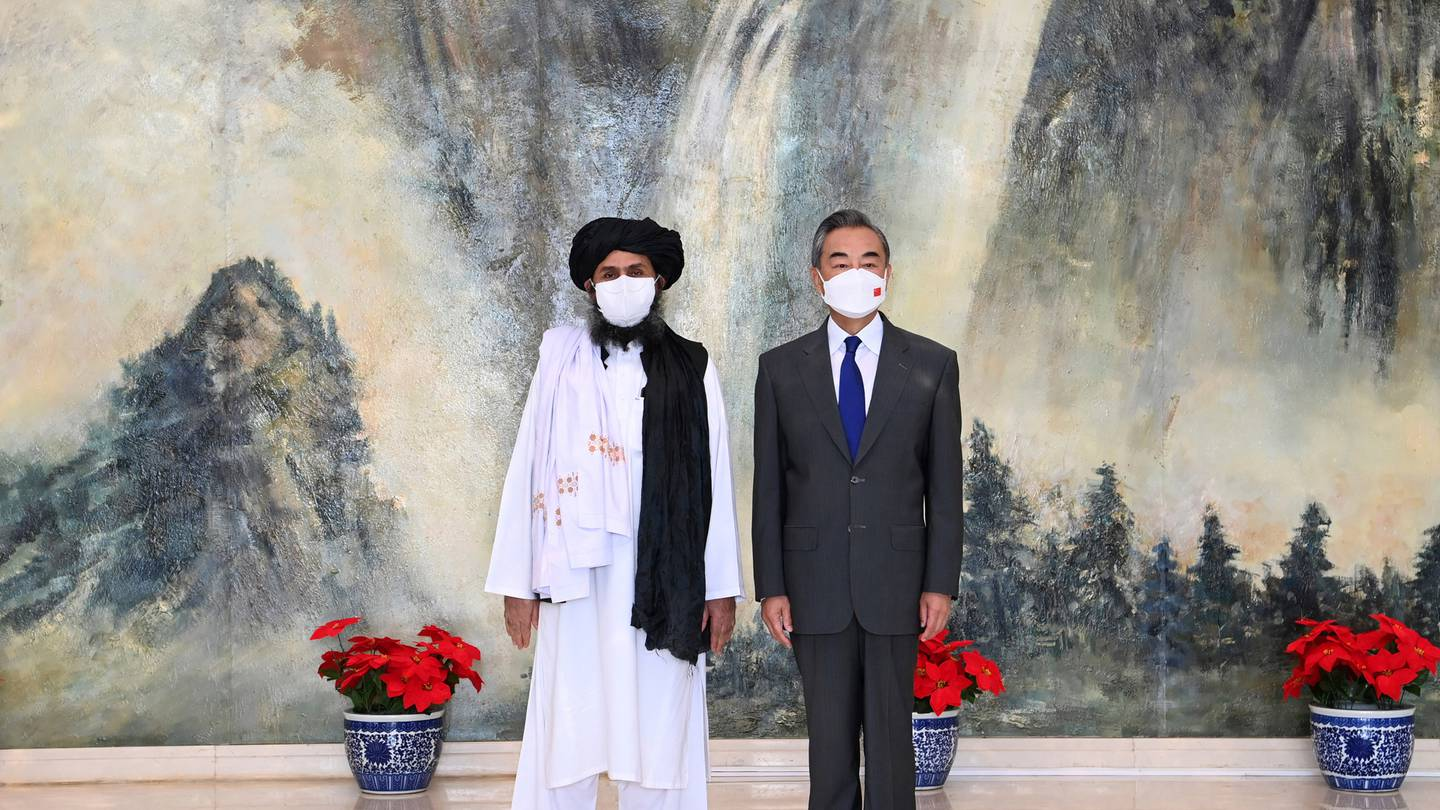 China pledges support for Taliban